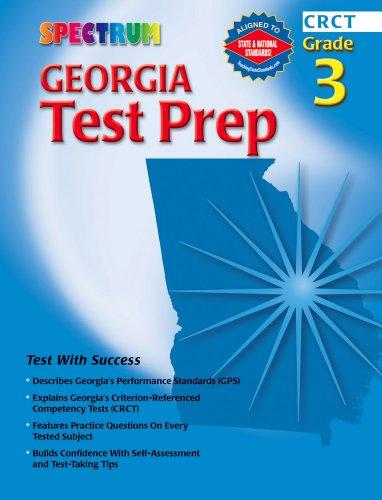 Spectrum Georgia Test Prep, Grade 3 (Spectrum State -
