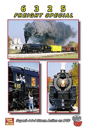 The Grand Trunk Railway - Grand Trunk Western 6325 Freight Special [DVD] [2010]