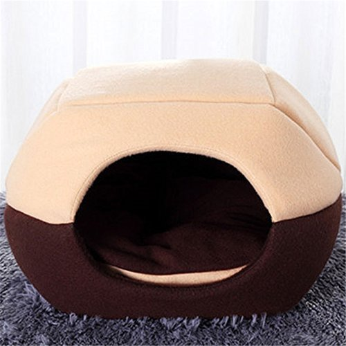 FFMODE Cozy Pet Dog Cat Cave Mongolian Yurt Shaped House
