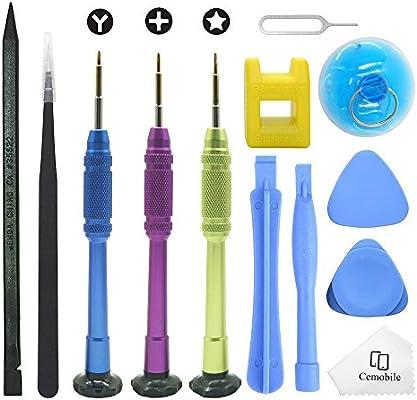 Cemobile Kit de herramientas de reparación para iPhone, kit de ...
