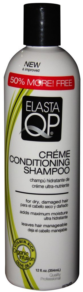 Elasta Qp Creme Conditioning Shampoo for Dry Damaged Hair 355 ml