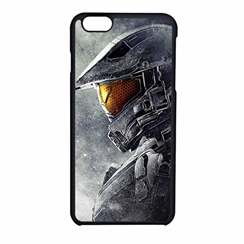 Master Chief Halo 5 Guardians Case / Color Black Rubber / Device iPhone (Iphone 6 Master Chief Case)