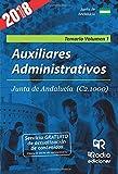 Auxiliares Administrativos de la Junta de Andalucía (C2.1000). Temario. Vol.1. 3ª edición.