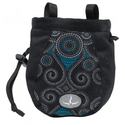 prAna Women'S Chalk Bag With Belt,Black Mosaic,One size (Prana Womens Chalk Bag)