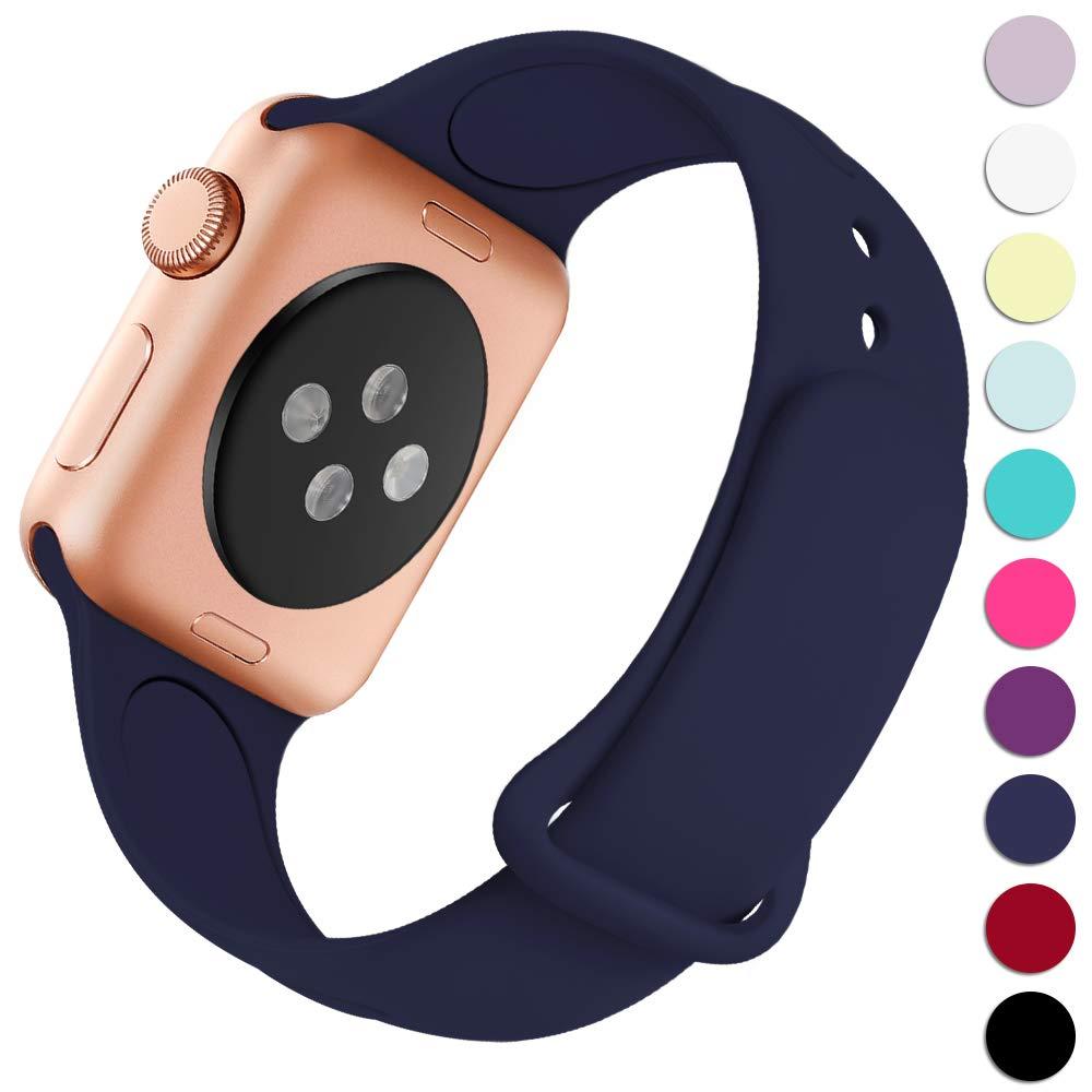 Malla Silicona para Apple Watch (42/44mm) HAVEDA [7H3RTGFL]
