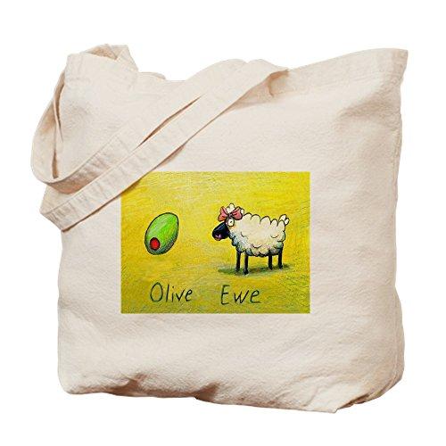 Bag Bag Shopping CafePress OLIVE Natural EWE Tote Canvas Cloth H8g4XzFq
