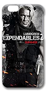 iPhone 6 Plus Case, Ultra Slim Pattern Bumper for iPhone 6 Plus Cover (5.5) The Expendables 2 Lundgren 3D iPhone 6 Plus cases for Girls iphone 6 Plus case hard PC Skin