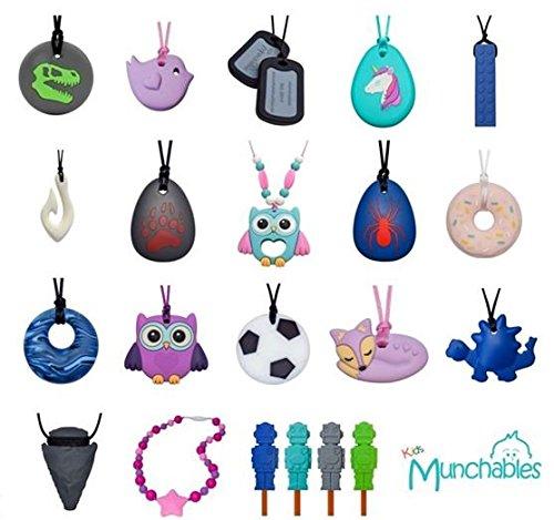 Dragon Sensory Chewelry - Munchables Chew Necklace (Red) by Munchables Chewelry (Image #4)