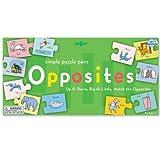 : eeBoo Opposites Puzzle Pairs