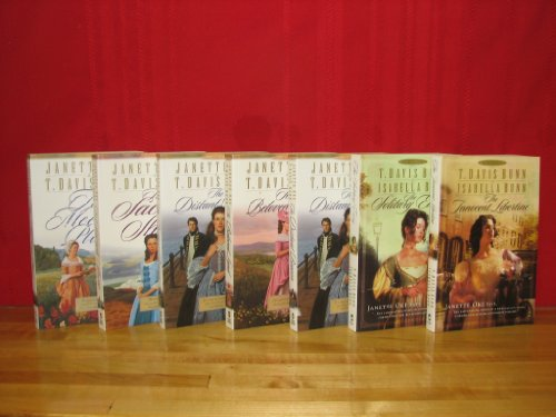 Song of Acadia Series Complete Set, Volumes 1-5 + Heirs of Acadia Volumes 1-2. (Song of Acadia Titles:) The Meeting Place / The Sacred Shore / The Birthright / The Distant Beacon / The Beloved Land. (Heirs of Acadia Titles:), The Solitary Envoy / The Innocent Libertine By Janette Oke and T. Davis Bunn)|Song of Acadia|