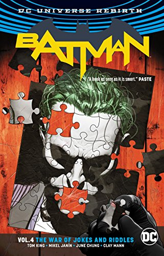Batman Vol. 4: The War of Jokes and Riddles (Rebirth)
