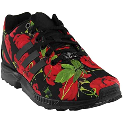 adidas Women's ZX Flux Red Rose Fashion Sneakers (7 B(M) ...