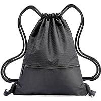 Drawstring Bag - Swimming Bag Gymsack PE Backpack Chich Bag - Hovinso  Lightweight Sport Gym Rucksack 0fa388ce23595