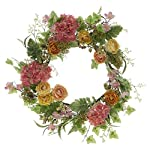 20-Inch-Spring-Floral-Wreath-With-Mixed-Blooms-Greens-and-Buds