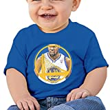 Jirushi Infants &Toddlers Baby's KD Warriors No35 RoyalBlue T Shirts For 6-24 Months