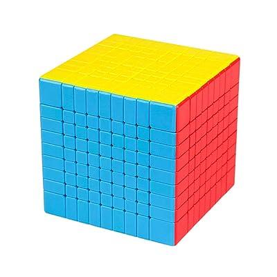 DSstyles MOYU MF9 - Puzzle mágico de 9 x 9 Pulgadas, Juguete Educativo para Adultos y niños, Regalo de cumpleaños: Hogar