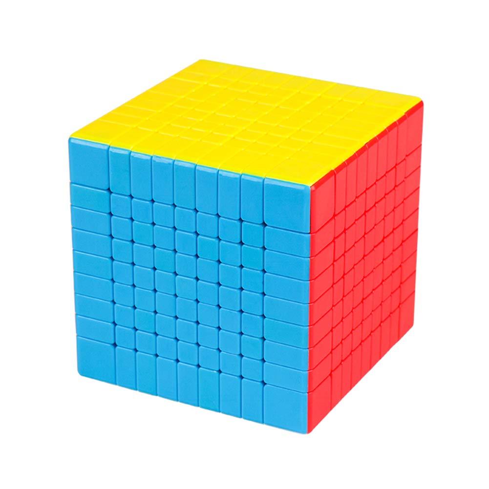 XuBa Zauberwü rfel 9x9 Magic Puzzle Cube fü r Erwachsene Kinder, Pä dagogisches Spielzeug Geburtstag Festival Geschenk