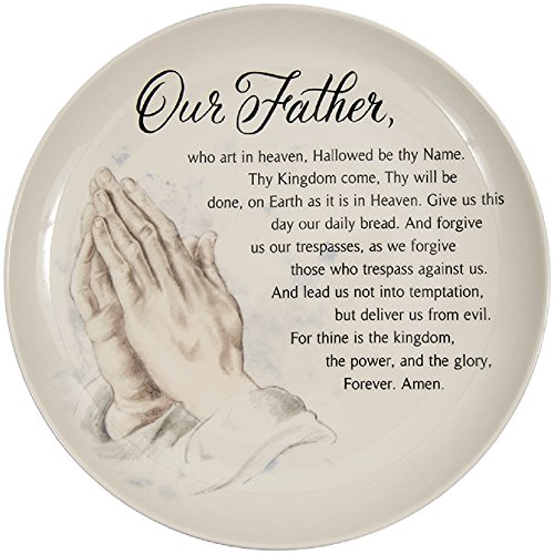 Carson Lord's Prayer Comfort Plate 11 Inches Diameter Home Decor