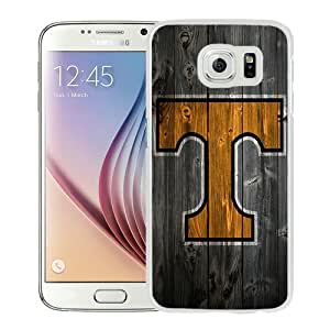 Fashionable And Unique Designed Case For Samsung Galaxy S6 Phone Case With Southeastern Conference SEC Football Tennessee Volunteers 06 White