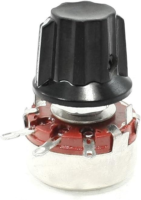 Rotary Taper Potentiometer 22K Ohm Single Turn for Inverter Speed Regulation