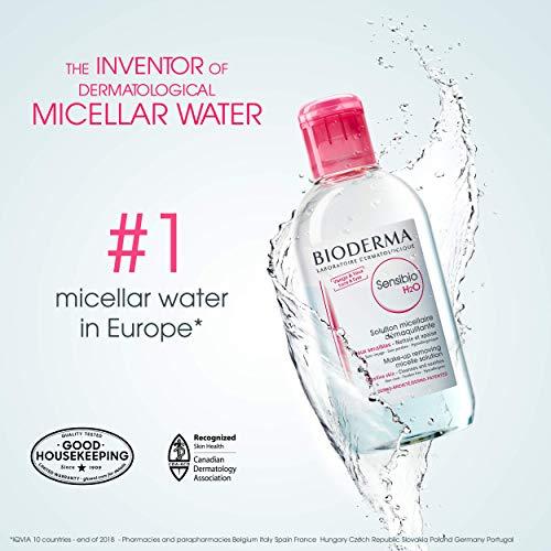 Bioderma - Sensibio H2O - Micellar Water - Cleansing and Make-Up Removing - Refreshing feeling - for Sensitive Skin