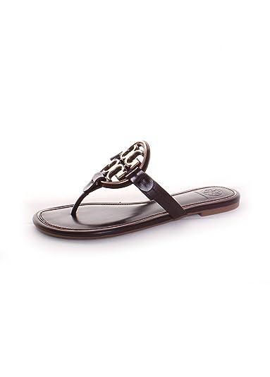 7d3b696d452 Tory Burch Miller Metal Logo Thong Sandal