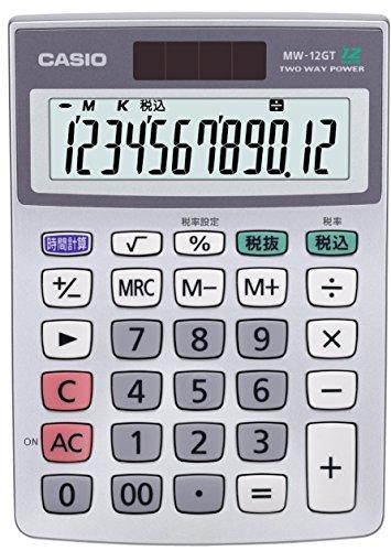 CASIO Extra large 12-digit calculator MW-12GT-N (japan import)