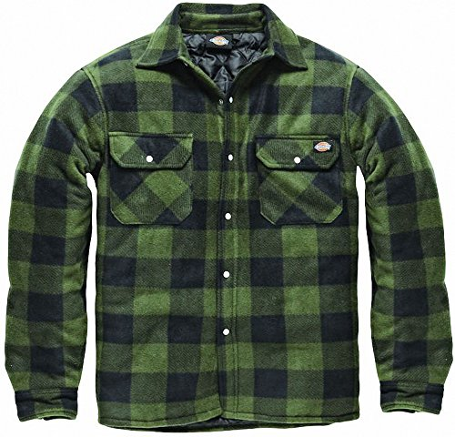 Taglie Foderato Imbottito Verde S M Lavoro Nero L Dickies Indumenti Camicia Blu Da sh5000 Xxl E Portland Caldo Pile Xl Navy Bwwvqxz6