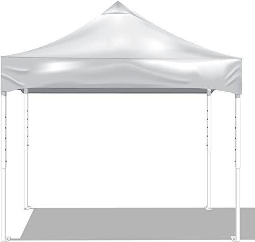 KD Kanopy PS100W Party Shade Steel Frame 1-Piece Pop-Up Indoor Outdoor Portable Canopy, 10 by 10-Feet, White