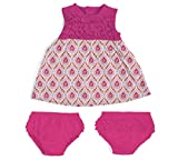 Magnificent Baby Magnetic Me by Modal Magnetic Dress and Diaper Cover Set