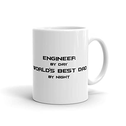 Dad Birthday Gift Engineering Mug Husband Boyfriend Funny Engineer