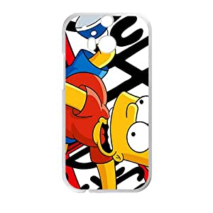 YYYT Simpsons movie Case Cover For HTC M8 Case