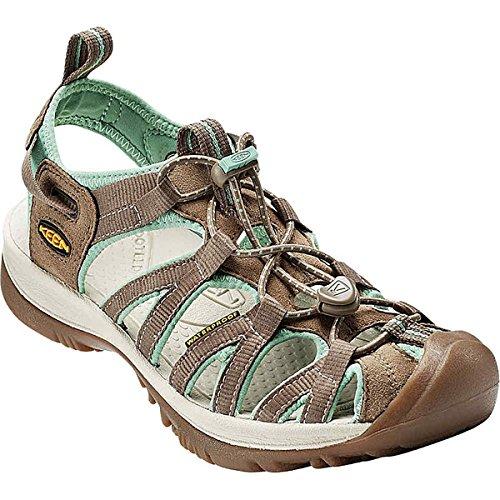 アンソロジー自分発火する(キーン) KEEN レディース 水遊び シューズ?靴 Whisper Sandal 並行輸入品