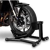 ConStands Motorrad Montageständer Wippe Vorderrad Easy Black