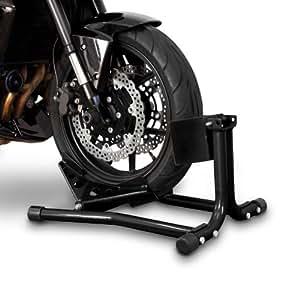 ConStands calzo para rueda caballete moto delantero Easy Black Yamaha XVS 1100 Drag Star