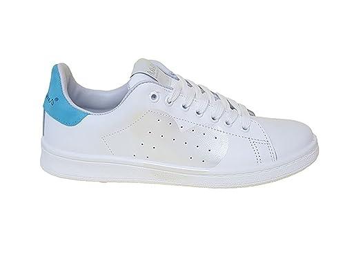 Blanco 37 Eu Mujer Rubens Para Zapatillas Nira De Size Piel SgfwqHxYC