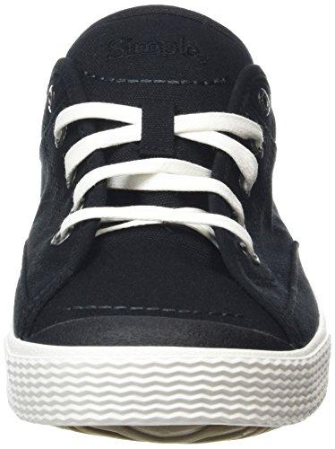 Baskets Simple Black Noir Basses Wingman 001 Homme 5xrOxFq4
