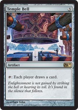 Magic: the Gathering - Temple Bell - Magic 2011 - Foil