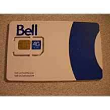 Carte Sim Bell 4G LTE Sim Card