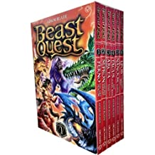 Beast Quest Box Set Series 1 (Book 1 To 6)