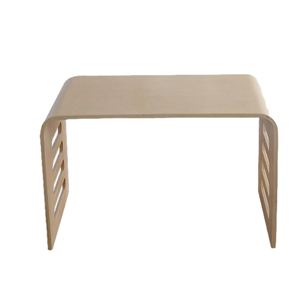 YNN ポータブルテーブル 怠惰なラップトップテーブルリムーバブルソリッドウッドのベッドサイドコンピュータデスク   B07P9CYJGW
