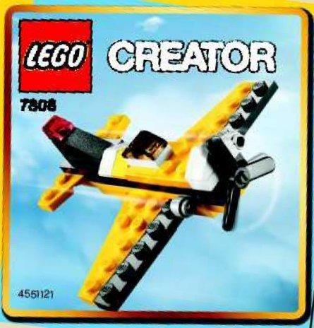 LEGO Creator Mini Figure Set #7808 Yellow Single Prop Bagged, Baby & Kids Zone