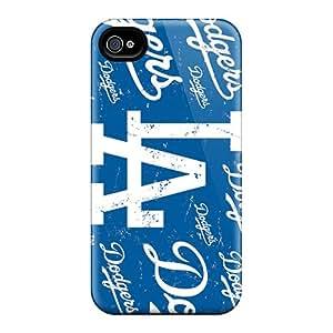 RLrtA13486ocgHu Anne Marie Harrison Los Angeles Dodgers Durable Iphone 4/4s Tpu Flexible Soft Case
