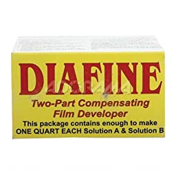 Diafine 2 Bath Black & White Film Developer Concentrate, Makes 1 Qt. of Solution