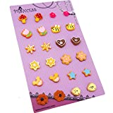 Wholesale Lot of 12 Pairs Cute Stud Studed Earrings for Kids, Teen Girls, Young Women, Various Color and Design