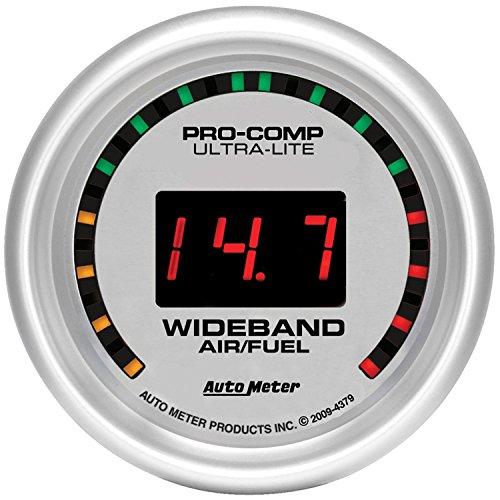 Auto Meter 4379 Ultra-Lite Wide Band Air Fuel Ratio (Wide Band Air Fuel Ratio)
