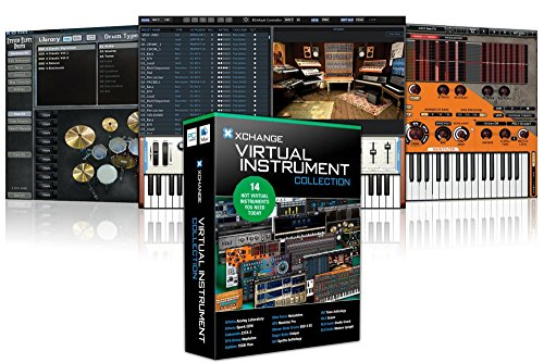 XCHANGE Virtual Instrument Collection with Arturia, Cakewalk, D16 Group, Ohm Force, Steven Slate, Sugar Bytes, and - Virtual Change