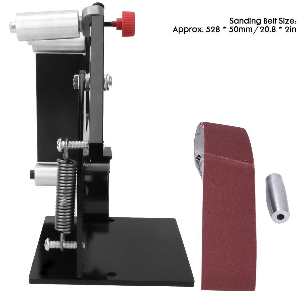 Mootea 50mm Width Belt Sanders,Grinding Polishing Machine Belt Sanders Attachment Polisher with Adapter M10