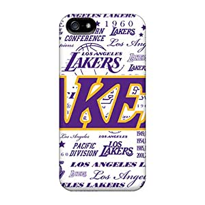 For Iphone 5/5s Fashion Design Los Angeles Lakers Case-BftUdzJ-1294