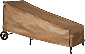 Abba Patio Outdoor/Pool Chaise Lounge Cover, Water Resistant, 84''L x 34''W x 34''H